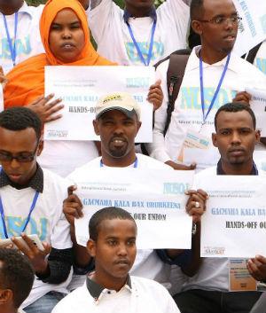 Somalia: Cesen los ataques sobre los periodistas y otros sindicalistas